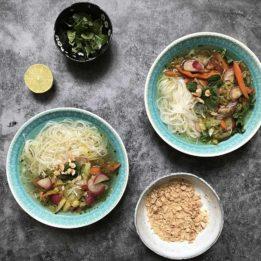 recept za vegetarijansku Pho juhu iz Vijetnama