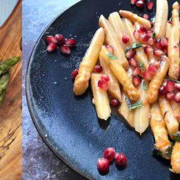 recepti sa šparogama, bijelim i zelenim