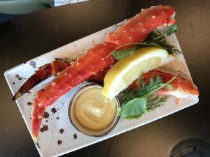 tipičan obrok kod Arktičkog oceana: King's Crab ili kraljevski rak
