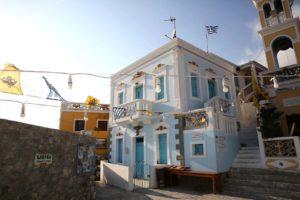 "Na glavnom ""trgu"" sela Olympos na otoku Karpathosu"