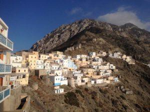 Selo Olympos na otoku Karpathosu u Grčkoj