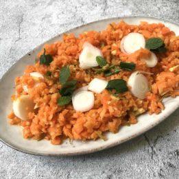 recept za salatu od mrkve, đumbira i mladog luka