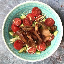 recept za orijentalnu fattoush salatu