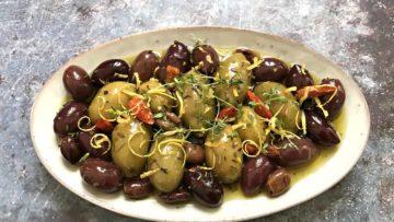 recept za masline marinirane na perzijski način