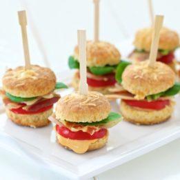 recept za mini hamburgere kao finger food na zabavama