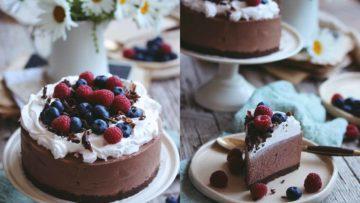 recept za čokoladni cheesecake koji se ne peče