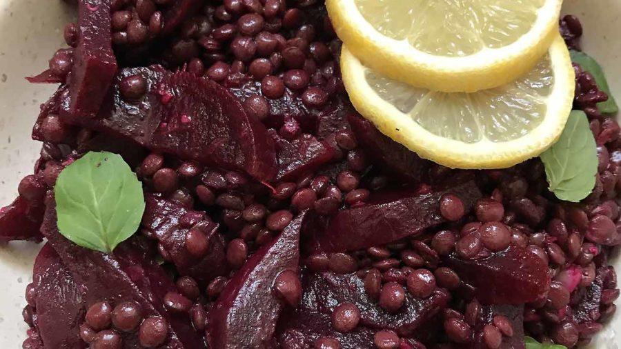 recept za salatu od cikle i zelene leće