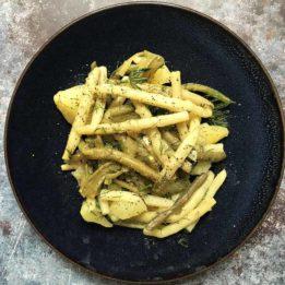 recept za salatu od mahuna i krumpira