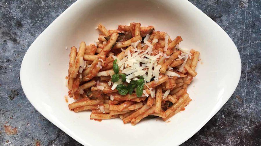 """recept za tjesteninu na način """"Norma"""""""