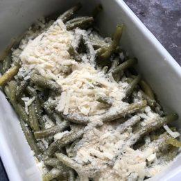 recept za zapečene mahune s krušnim mrvicama i parmezanom