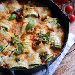 Recept za zarolane tikvice s domaćom šalšom (umakom) od rajčica