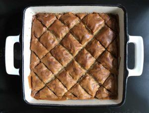 recept za sočnu baklavu s orasima i pistacijama