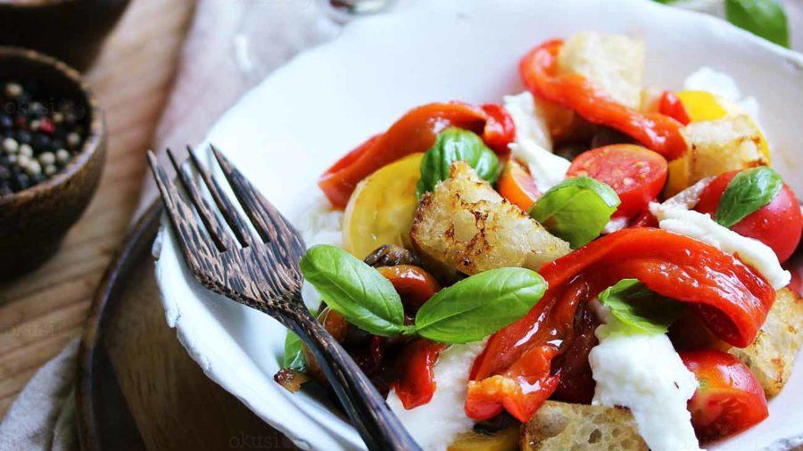 recept za panzanella salatu