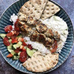 recept za souvlaki od piletine